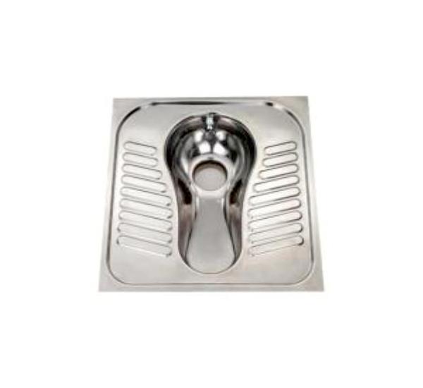 Paslanmaz Çelik Jet Yıkamalı Alaturka Tuvalet