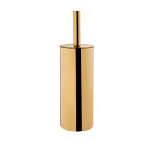 Kaynaklı Altın Kaplama Klozet Fırçası 304 Kalite