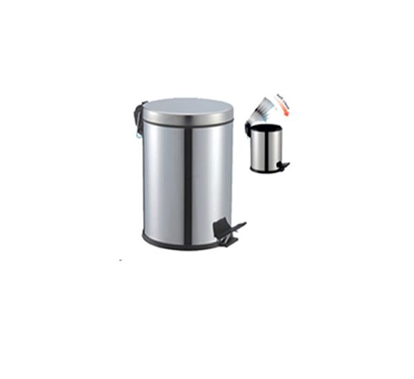 3 LT.Pedallı Çöp Kovası Amortisörlü