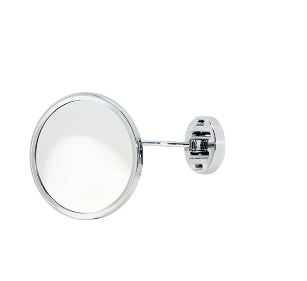 Mafsallı Komple Prinç Üzeri Krom Kaplama Makyaj Aynası