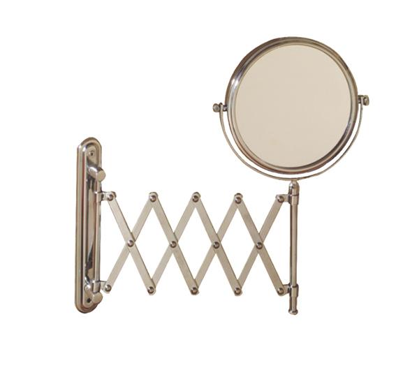 Makaslı Çift taraflı Makyaj Aynası